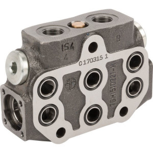 "Walvoil Section SD6 Parallel - SD6P000 | 3 cm³/min | Nitrilrubber (NBR) | 210 bar | -20 +80 | 45 l/min | 315 bar | 3/8"" BSP"