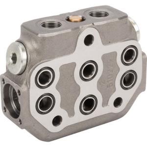 "Walvoil Section SD6 Series - SD6S000 | 3 cm³/min | Nitrilrubber (NBR) | 210 bar | -20 +80 | 45 l/min | 315 bar | 3/8"" BSP"