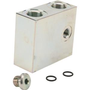 Walvoil Inlaatsectie exclusief ventiel - SDE060AN | 60 l/min | 315 bar | 1/2 uit | 1/2 in