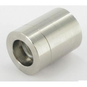 Dicsa Pershuls DN10-1ST RVS - SFD1S10RVS | Roestvast staal AISI 316L | EN 853-1ST / EN 857-2SC | 24 mm | 3/8 Inch | 10 mm | NS / HBT / SL 560