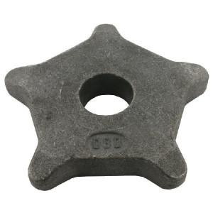 Kettingwiel 12x80 5T 35R - SG128052 | 155 mm | KG1280 | 35 (+0,75mm) mm | 12x80 mm
