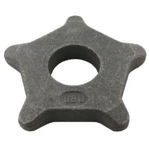 Kettingwiel 12x80 5T 50R - SG128057 | 155 mm | KG1280 | 50 (+0,75mm) mm | 12x80 mm