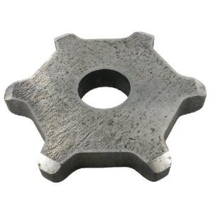 Kettingwiel 12x80 6T 45R - SG128066 | 180 mm | KG1280 | 45 (+0,75mm) mm | 12x80 mm
