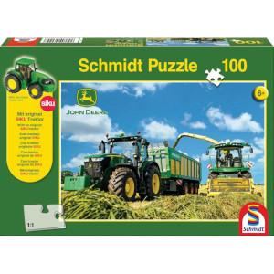 Schmidt Puzzel trekker 7310R +8600i - SH56044 | 36,1 x 24,3 cm | John Deere