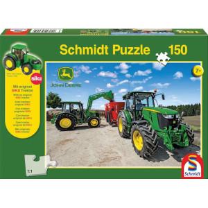 Schmidt Puzzel trekkers 5M-serie - SH56045 | 36,1x24,3 cm | John Deere