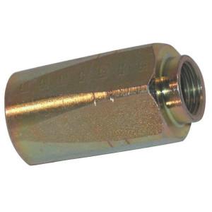 Schroefhuls DN13-2ST - SHS13 | EN 853-2ST HS slang | Verzinkt | 13,7 mm | 27,0 mm | 49,5 mm | 1/2 Inch | 13 mm