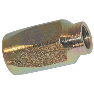 Schroefhuls DN06-2SN - SHT6 | EN 853-2SN HST slang | Verzinkt | 11,4 mm | 20,6 mm | 40,6 mm | 1/4 Inch | 6 mm