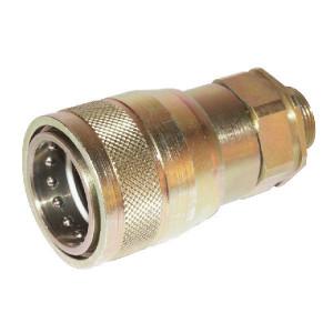 "Voswinkel Koppelhuis 1"" - M36x2,0-25S - SKPF25S36 | HP201S2536 | NBR / PTFE | Wit gepassiveerd | 250 bar | 25 S A | 54 mm | 34,3 mm | 109 mm | 18 mm | 1"" | 160 l/min | ISO 7241-1-A | 250 bar | 160 l/min"