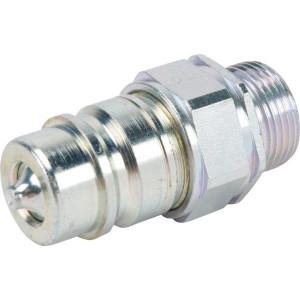 "Gopart Insteeknippel 15L - SKPM12L22N | NBR / PTFE | Wit gepassiveerd | 1/2"""