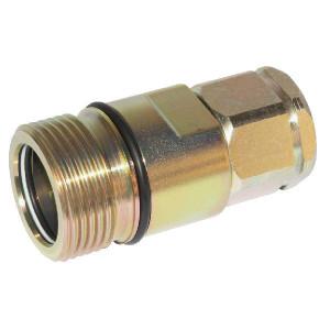 Voswinkel Koppelhuis M22 - SKSF16D22 | HS121IMF22 | NBR / PTFE | Wit gepassiveerd | 120 l/min | M22x1,5 A | 15 mm | M42x2 mm | 400 bar
