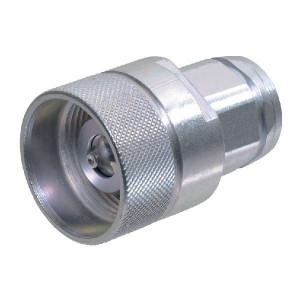 "Voswinkel Insteeknippel 3/8"" BSP - SKSM10C06 | HS082IGF06 | NBR / PTFE | Wit gepassiveerd | 45 l/min | 3/8"" BSP A | 12 mm | 34 mm | 17,5 mm | 450 bar"