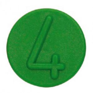 Voswinkel Markeerclip 4 groen - SKV9FCL4GREEN