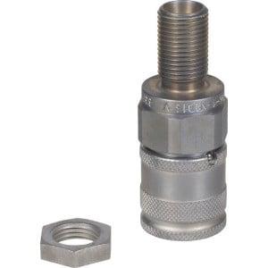 Voswinkel Koppelingsmof Schott 10L - SKVF06N16 | FH061N1016 | NBR / PTFE | ISO 16028 | Zink / Nikkel | 10 L A | 28 mm | 16,2 mm | 12 l/min