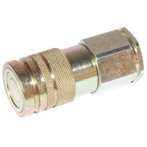 "Voswinkel Koppelhuis 3/8 - 3/8"" BSP - SKVF10C06 | FH101IGF06 | NBR / PTFE | ISO 16028 | Zink / Nikkel | 3/8"" BSP A | 32 mm | 19,8 mm | 12 mm | 35 l/min | 350 bar"