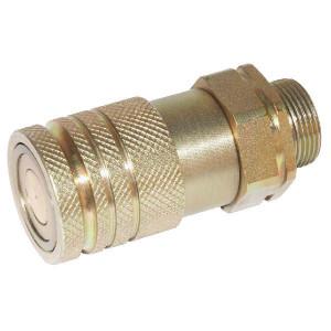 Voswinkel Koppelhuis BU 3/8 M18-12L - SKVF10L18 | HF081L1218 | NBR / PTFE | ISO 16028 | Zink / Nikkel | 12 L A | 32 mm | 11 mm | 35 l/min | 250 bar