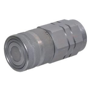 "Voswinkel Koppelhuis 1/2 - 1/2"" BSP - SKVF12C08 | FH121IGF08 | NBR / PTFE | ISO 16028 | Zink / Nikkel | 1/2"" BSP A | 38 mm | 24,5 mm | 14,5 mm | 55 l/min | 350 bar"