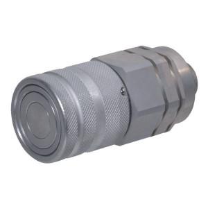 Voswinkel Koppelhuis BU 1/2 M18-12L - SKVF12L18 | FF121L1218 | NBR / PTFE | ISO 16028 | Zink / Nikkel | 12 L A | 38 mm | 24,5 mm | 11 mm | 55 l/min | 250 bar
