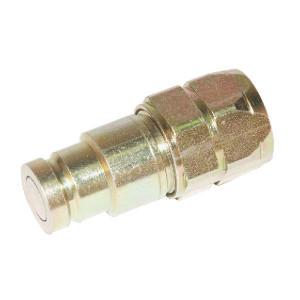 Voswinkel Insteeknippel 1/4 - 1/4 BSP - SKVM06C04 | FH0621IGF04 | NBR / PTFE | ISO 16028 | Zink / Nikkel | 1/4'' BSP A | 16,1 mm | 13 mm | 12 l/min | 400 bar