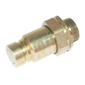 Voswinkel Insteeknip. BU 3/8 M18-12L - SKVM10L18 | FH102L1218 | NBR / PTFE | ISO 16028 | Zink / Nikkel | 12 L A | 19,8 mm | 11 mm | 35 l/min | 250 bar