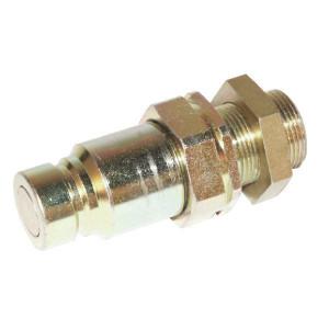 Voswinkel Insteeknippel schot 3/8 M18-12L - SKVM10N18 | FH10-2-K1218 | NBR / PTFE | ISO 16028 | Zink / Nikkel | 12 L A | 19,8 mm | 30 mm | 35 l/min | 250 bar