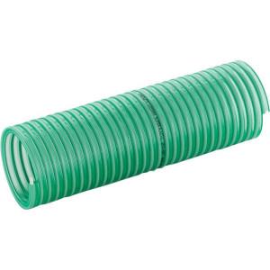 Mèrlett Slang-eindstuk PVC 1000mm - SL250401000   Bestand tegen ozon en UV   Transparant groen   Transparant groen   PVC spiraal   1 9/16 Inch   4,2 mm   160 mm   12 bar   0,6 bar   600 g/m   1.000 mm   48,4 mm