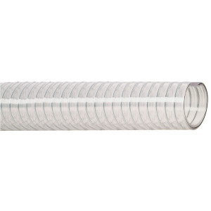 Dungflex Zuig/persslang 32mm - SL35032   Lange levensduur   Transparant   Transparant   Stalen spiraal   4,5 mm   12 bar   0,9 bar   610 g/m