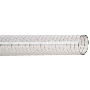 Dungflex Zuig/persslang 38mm - SL35038   Lange levensduur   Transparant   Transparant   Stalen spiraal   4,5 mm   110 mm   3,5 bar   10,5 bar   0,9 bar   790 g/m