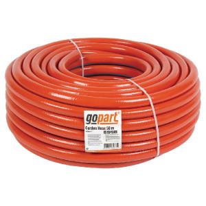 "Tuinslang Gopart 1"" 50m - SL51902550 | Flexibel | Oranje met blauwe streep | Textiel | 1 Inch | 18 bar"