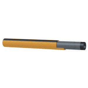 "Boomspuitslang 1/2"" 80bar 100m - SL593013100 | Geel met zwarte streep | 80 bar | 104 mm | 4,5 mm | 200 bar | 1/2 Inch | 13 mm | 320 g/m | 22 mm"