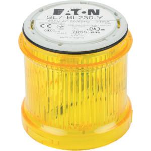 Eaton Knipperlichtmodule + LED 230V geel - SL7BL230Y | 230/240 V AC