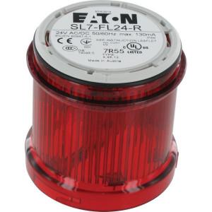 Eaton Flitslichtmodule + LED 24V rood - SL7FL24R | 24 V AC/DC
