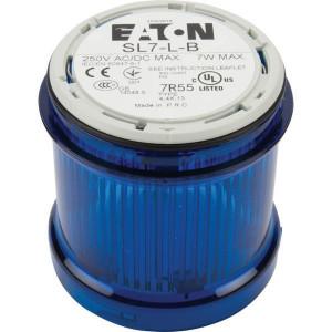 Eaton Signaalzuil z/lamp blauw - SL7LB | < 250 V AC/DC | 7 W W