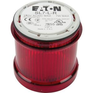 Eaton Signaalzuil z/lamp rood - SL7LR | < 250 V AC/DC | 7 W W