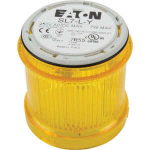 Eaton Signaalzuil z/lamp geel - SL7LY | < 250 V AC/DC | 7 W W