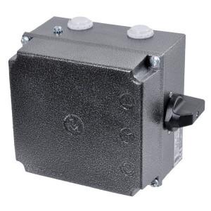 Hand ster-driehoekschakelaar - SMJ | 151x141x100 mm | 9,5 A | 5.5...9.5A A | 4,7 kW