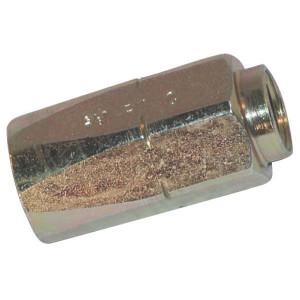 Schroefhuls DN10-1ST - SNS10 | EN 853-1ST NS slang | Verzinkt | 12,2 mm | 22,2 mm | 41,9 mm | 3/8 Inch | 10 mm