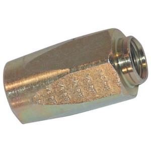 Schroefhuls DN06-1SN - SNT6 | EN 853-1SN NST slang | DIN EN 853 1SN und HSK | Verzinkt | 12,1 mm | 20,6 mm | 40,6 mm | 1/4 Inch | 6 mm