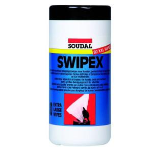 Soudal Swipex vochtige reinig.doeken - SP113551 | Veilig in gebruik | Extra groot