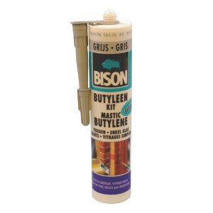 Bison Butyl. afdichtm., grijs 310 ml - SP91003 | 310 ml