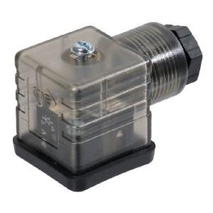 ATAM/CNE Stekker met LED-diode 12-24VDC - SPKA132D54T9 | 12-24 V DC V | transparant | Polariteits afhankelijk