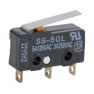 Omron Micro schakelaar 5A, V4 - SS5GL