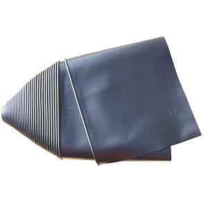 Beschermdoek zwart rol 20 m - ST4250