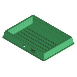 Suevia Voetbad Mod. SD80 - SU1601086 | 800 x 600 x 110 mm mm