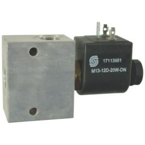 "Comatrol 2/2 Ventiel SVP08NOR 24VDC 3/8 - SVP08NOR002 | Aluminium | Nitrilrubber (NBR) | 3 bar | 100 % | 35 l/min | 230 bar | 110 mm | 60 mm | 3/8"" BSP"