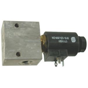 "Comatrol 2/2 Ventiel SVP10NC 24VDC 1/2 - SVP10NC004 | Aluminium | Nitrilrubber (NBR) | 3 bar | 100 % | 80 l/min | 230 bar | 120 mm | 70 mm | 1/2"" BSP"