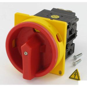 Eaton Nokkenschakelaar 3p, 20 A - T021EASVB | 3 NO | 6,5 kW | Inbouw | 65 (Front) IP