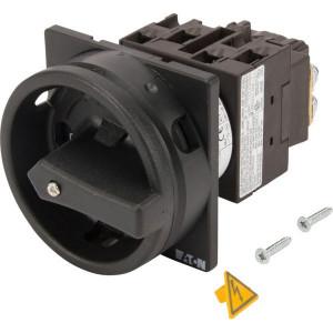 Eaton Nokkenschakelaar 3P 20A BK - T021EASVBSW | 3 NO | 6,5 kW | Inbouw | 65 (Front) IP