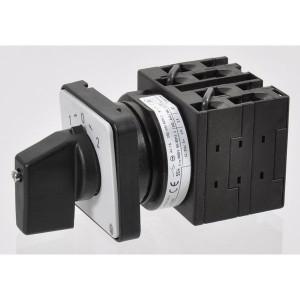 Eaton Omkeerschakelaar 3P 20A 6.5kW - T038228E | Tipstand naar 0 | Tip functie | 3 NO | 6,5 kW | Inbouw | IP65 (Front) IP
