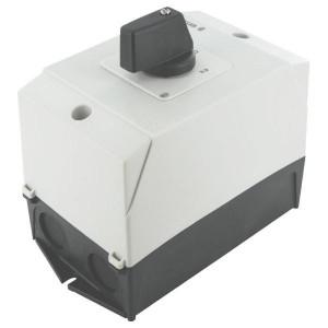 Eaton Omkeerschakelaar 3p, 20A,6,5kW - T038401I1   Arreterend   Gearreteerd   3 NO   6,5 kW   Opbouw   IP65 IP