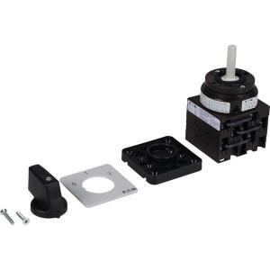 Eaton Nokkenschakelaar 6P 20A - T038451E | 3 NO | 6,5 kW | Inbouw | Front IP65